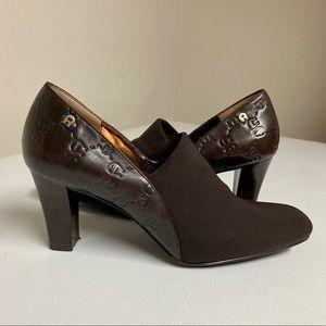 Etienne Aigner brown heels